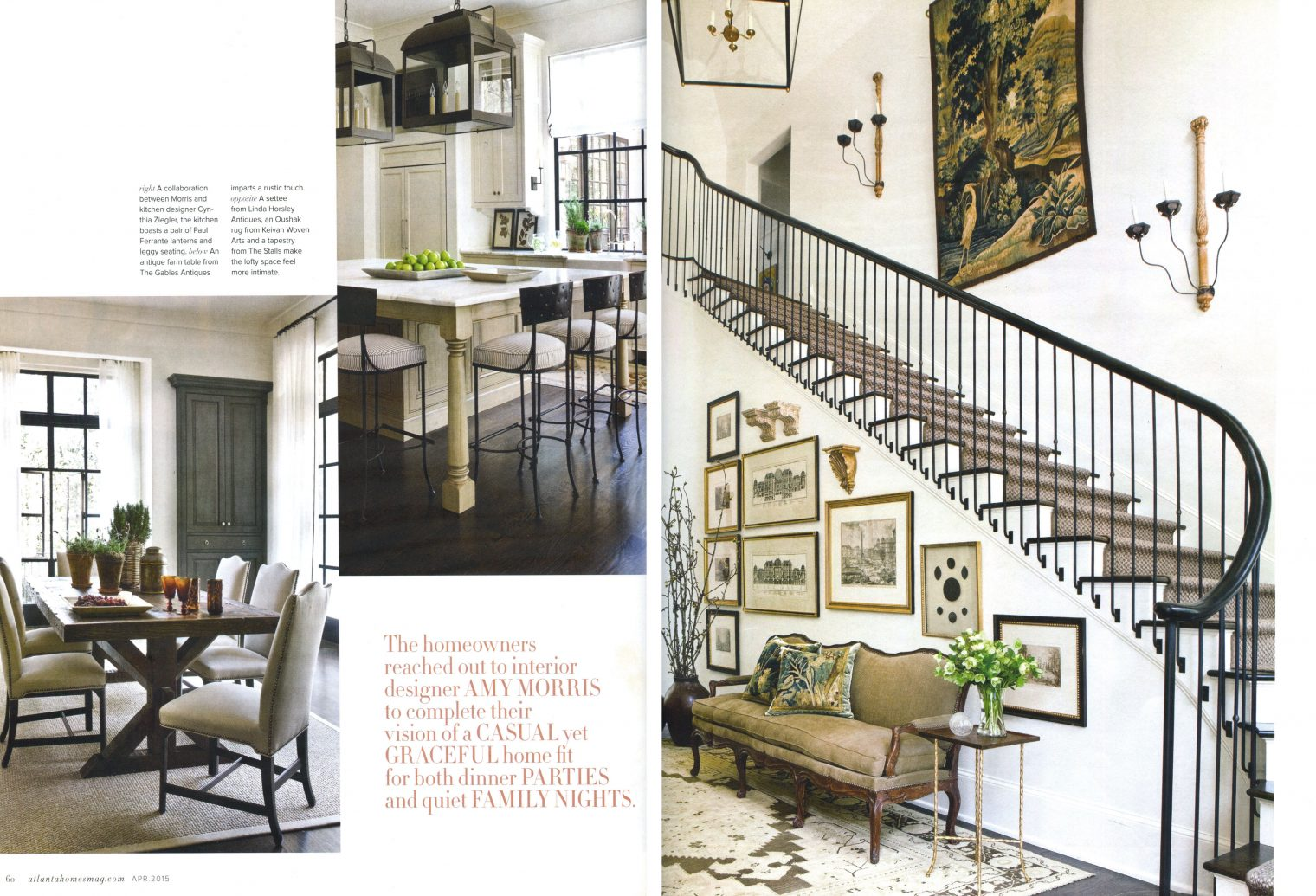 Gables Of St Morris atlanta homes & lifestyles | apr 2015 - amy morris interiors